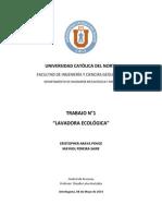 INFORME LAVADORA