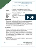 Sumilla II Congreso de Ingeniería Mecatrónica Del Perú (Universidades)[1]