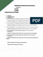 Temperature Settings Procedure for Liebert ABB Controller