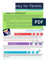 proficiency for parents infographic