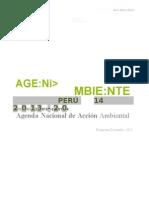 Agendambiental Peru 2013-20141