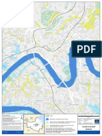 Flooding Brisbane Flood Flag Map