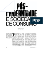 JAMESON, F. Pós-modernidade e sociedade de consumo.pdf