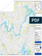 Flooding Gordon Park Flood Flag Map