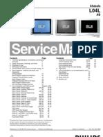 Philips (Chassis L04L AB) Manual de Servicio