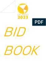 Orlando 2023 Bid Book