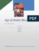 API Di Bukit Menoreh