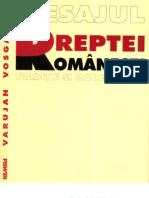 Varujan Vosganian - Mesajul Dreptei Romanesti