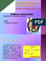 Vitamina b6 y Ácido Nicotinico