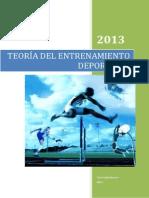 Teoría Del Entrenamiento Deportivo