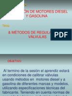 Calibración de Válvulas