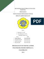 Cover Laporan Praktikum Pentanahan Pengaman Untuk Beban Lebih Dari Satu