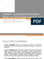 1. Historia de La Educación Parvularia en Chile y El Mundo
