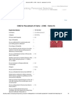 New Welcome to IBPS - (CWE - Clerks-IV) - Application Form Print Neww