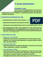 ABM (ACTIVITY BASED MANAGEMENT)