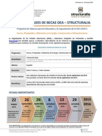 PAEC Convocatoria OEA - Structuralia 2014