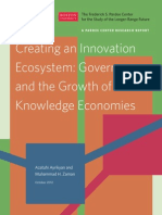 Innovation Growth, Ecosytem and Knowledge EconomiesReport