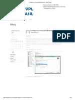 Configurar e Consumir WebService › Advpl Brasil