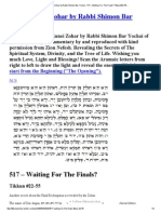517The Tikkunei Zohar by Rabbi Shimon Bar Yochai - 517 – Waiting For The Finals_ Tikkun #22-55 ...pdf