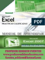 3 Guia Practica de Microsfot Excel 2007 Completa 2014 Nivel Avanzado Practicas