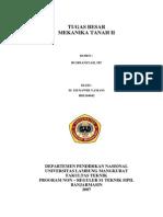 Tugas Besar Mektan II (m.munawir Yamani-h8e104042)