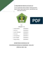 Proposal Praktikum Teknologi Pangan