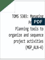 Planning(1)