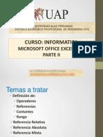 8. Excel 2007 Parte Ii_2014-2c Ingenieria Civil