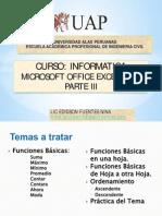 9. Excel 2007 Parte Iii_2014-2c Ingenieria Civil