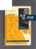 We the Black Jews Vol-1 and 2 Yosef Ben Jochannan