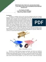 Proses Pembuatan Wheelbarrow