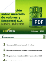 Capacitación Ecopetrol - Nivel Básico