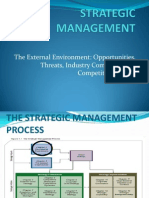 Strategic Management -The Enviroment