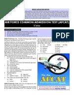 Air Force Common Admission Test (Afcat) 2014