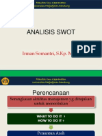 3a. Analisis Swot
