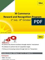 M Commerce Incentive Program