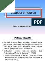 Ppt Geologi Struktur Full