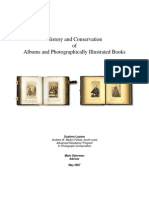 History and Conservation of Albums and Photographically Illustrated Books for Web