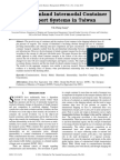 Modeling Inland Intermodal Container Transport Systems in Taiwan