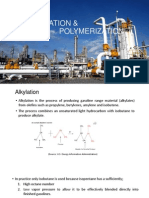 Alkylation and Polymerization Process