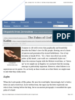 The Palms of God's Hands—Kafim