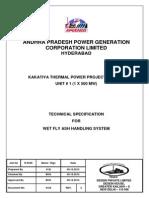 Kakatiya Tpp i - Wet Ash Handling System, Rev 3 (09.10.2012) (1)