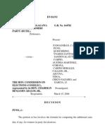 Partido Ng Manggagawa and Butil Farmers Party v. Comelec