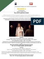 Richard II - Royal Shakespeare Company