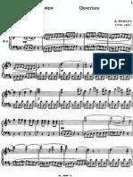 Mozart - Figaro Overture Vocal Score