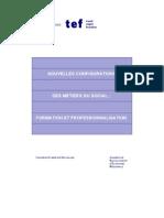 Travail Emploi Formation 8-Nouvelles Configurations Des Metiers Du Social
