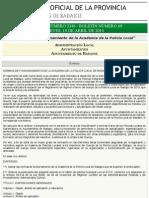B.O.P. de Badajoz - Anuncio 02346:2014 Del Boletín Nº. 69 - Diputación de Badajoz