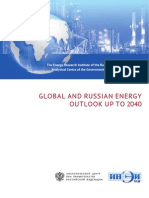 Global And Russian Energy Outlook
