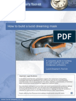How to Make a Lucid Dreaming Mask