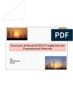 Overview & Need for HTLS Conductor